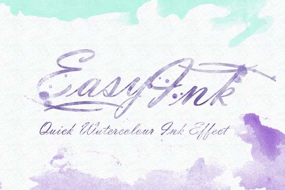EasyInk Quick Watercolour Ink Efx