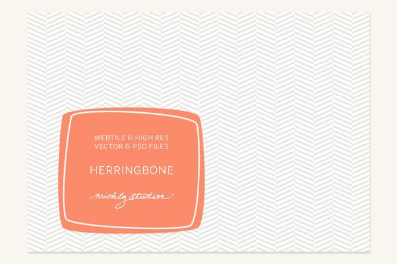 VECTOR PSD Herringbone Tile Patt