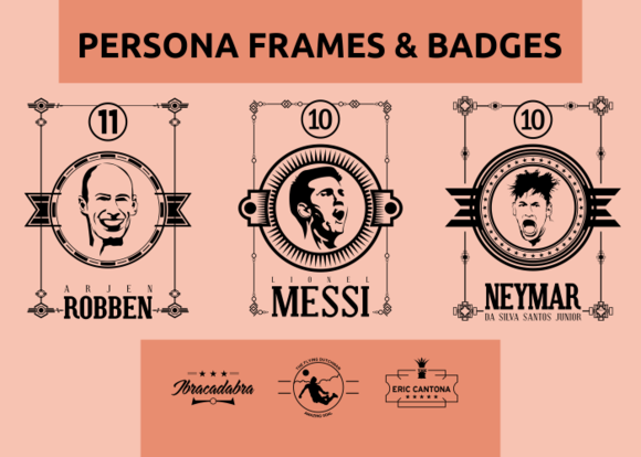 Persona Frames Badges