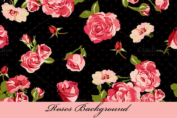 Backgrounds And Frames With Roses