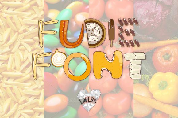 Fudie Font ~ Hand-drawn Font