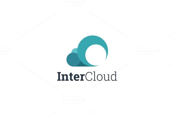 InterCloud Logo Template