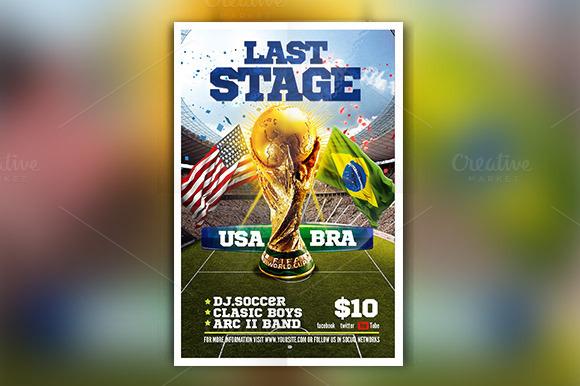 Brazil 2014 Last Stage