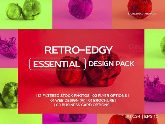 RETRO-EDGY ESSENTIAL DESIGN PACK