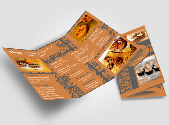 Cake Shop Brochure