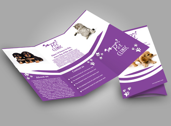 Pet Clinic Brochure