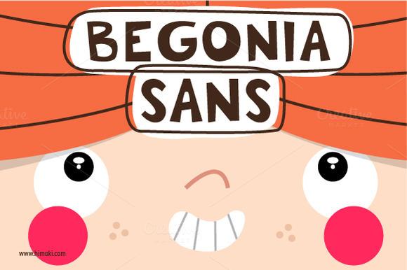 Begonia Sans