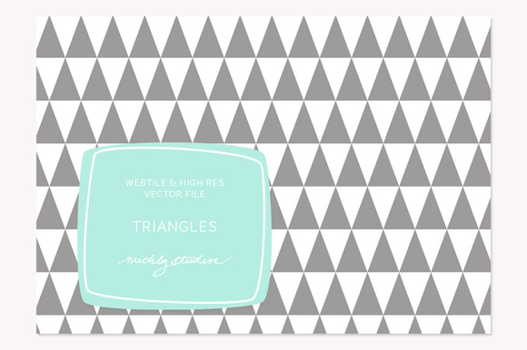 VECTOR PSD Triangle Tile Pattern