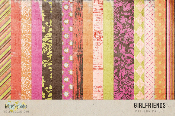 Girlfriends Digital Papers