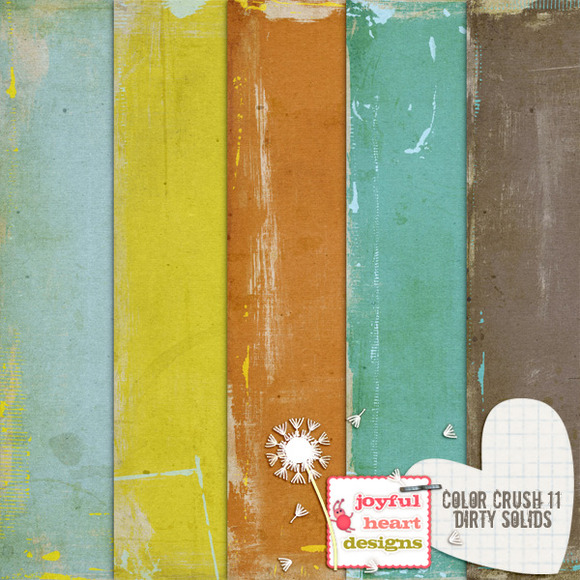 Color Crush 11 {dirty Solids}