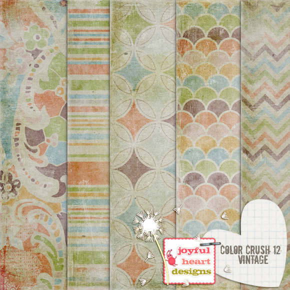 Color Crush 12 {vintage}