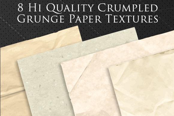 8 Hi Quality Vector Paper Textures