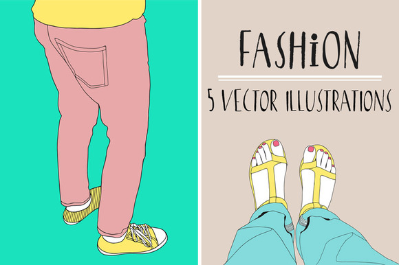 Fashion Vector Illustrations