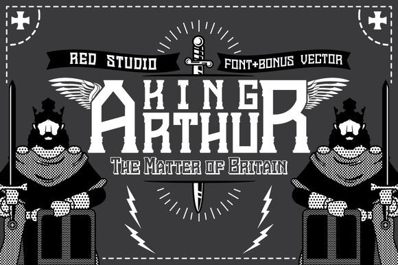 King Arthur Font Bonus