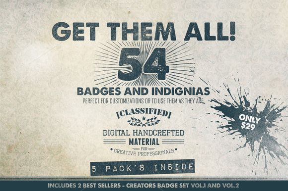 Get Them All 54 Badges