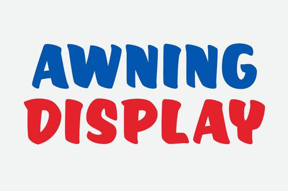 Awning Display