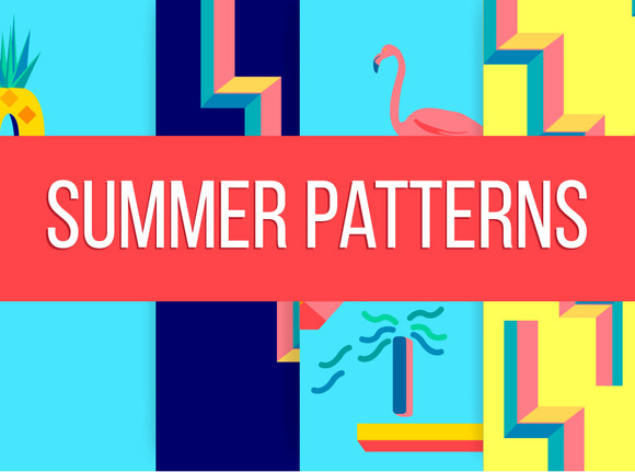 Summer Patterns Illustration