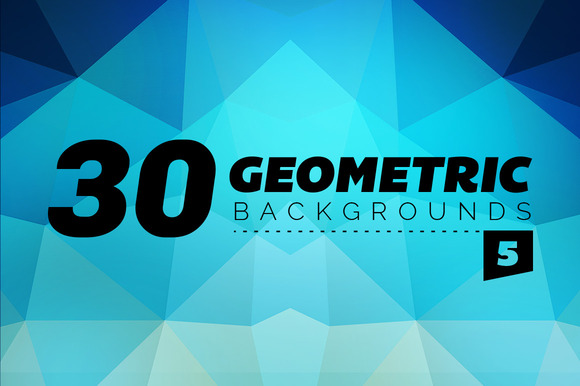 30 Geometric Backgrounds 5