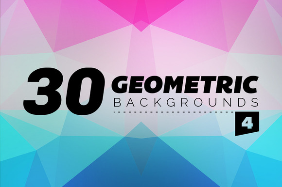 30 Geometric Backgrounds 4