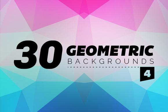 30 Geometric Backgrounds 4
