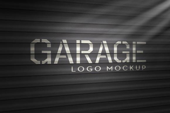 Garage Logo Mockup