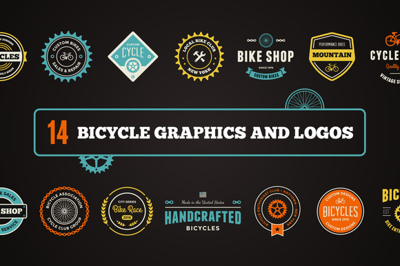 Bike Graphics Logos
