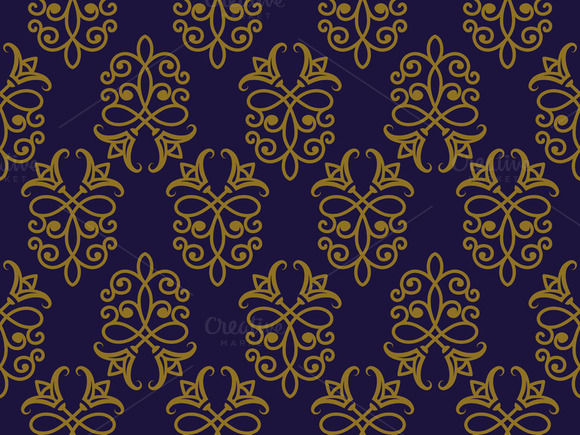 Vector Seamless Pattern In Eastern S