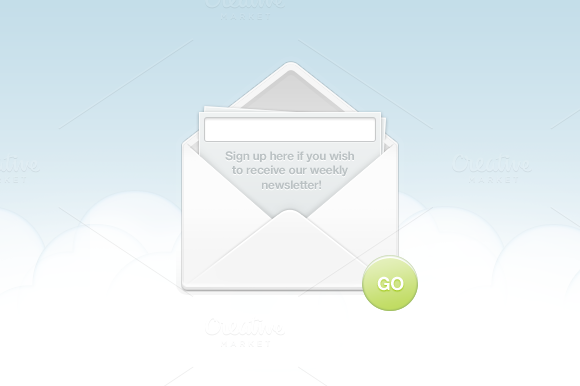 Sign Up Envelope