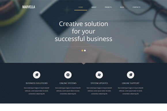 Marvella Business WordPress Theme
