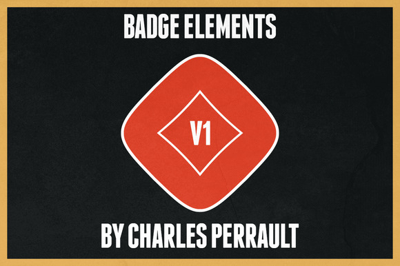 Badge Elements Vol 1