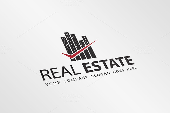 Real Estate Logo Template V.2