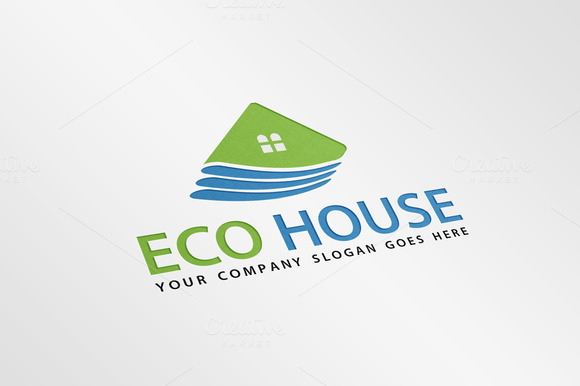 Exclusive Eco House Logo Template