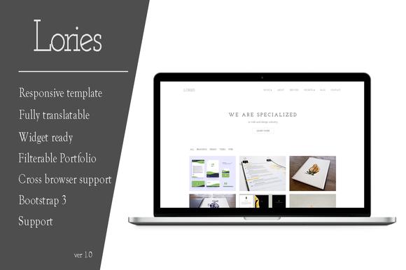Lories Portfolio Agency Wordpres