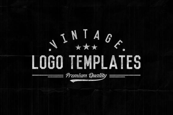 3 Vintage Logo Templates