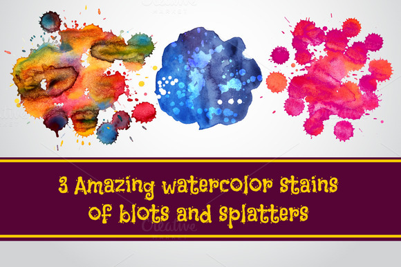 Amazing Watercolor Stains