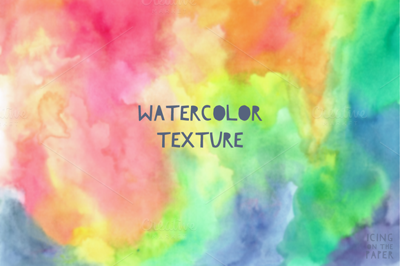Rainbow Watercolor Paper