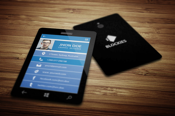 Smart Phone Business Card V.5