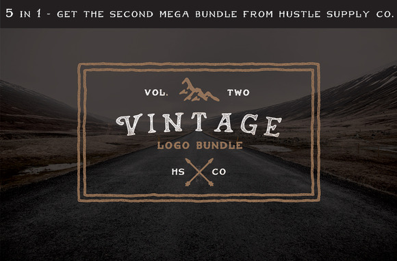 Vintage Logo Bundle 60% Off