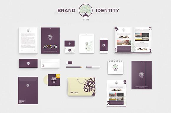 LifeTree Brand Identity