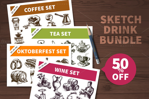 Sketch Drink Bundle