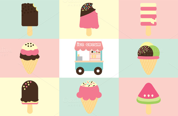 Ice Creams Collection