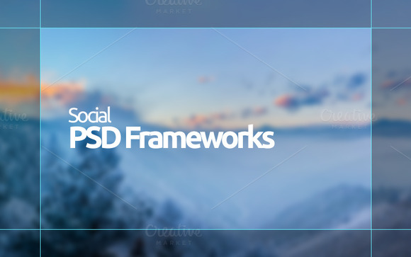 Social Framworks PSD