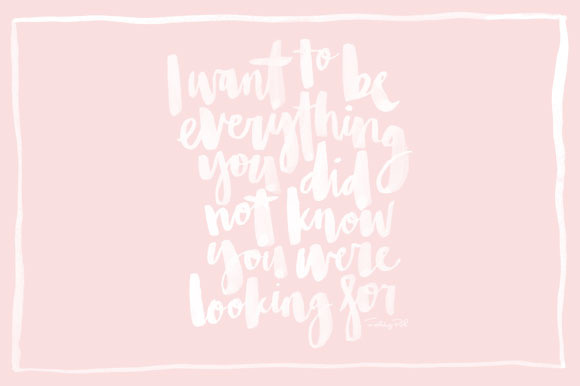 I Want To Be Everything..