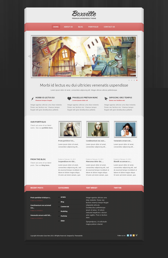 Boxville Wordpress Theme