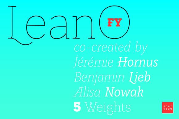 LeanO FY Thin Italic