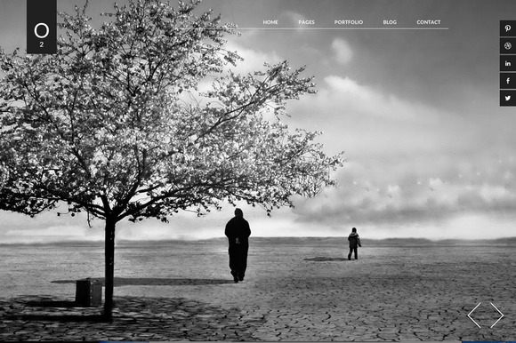 O2 Artists WP Theme