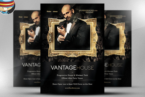 Vantage House Flyer Template