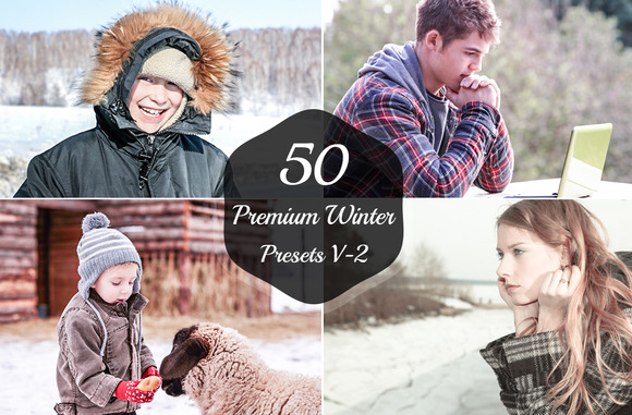 50 Winter Lightroom Presets V-2