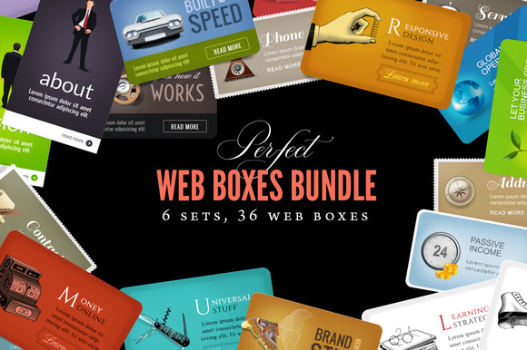 Landing Page Graphics Bundle