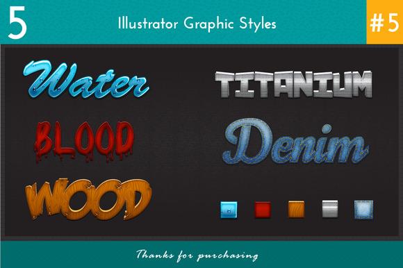 5 Illustrator Graphic Styles #5